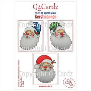 Q4Cardz-kerstmannen-prints