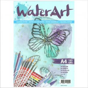 WaterArt-aquarelpapier-185-gram-A4