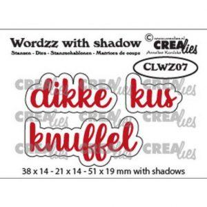 crealies-wordzz-with-shadow-dikke-kus-nl-clwz07