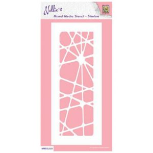 nellie-s-choice-mixed-media-stencils-slimline-abstract-mmssl020